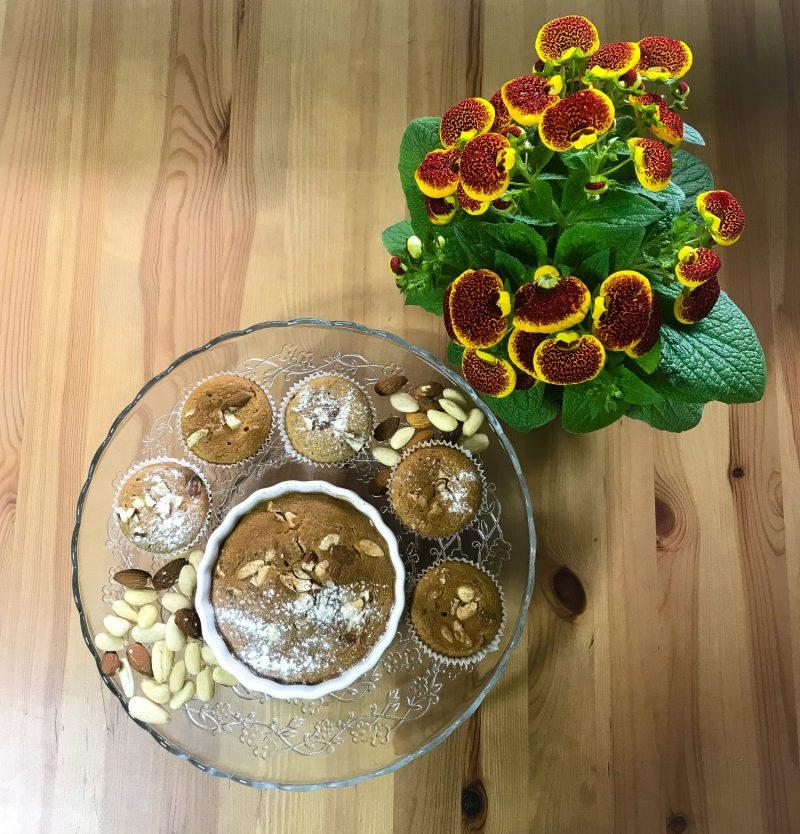 <h1>Muffin di Mandorle con vaniglia e cannella</h1>