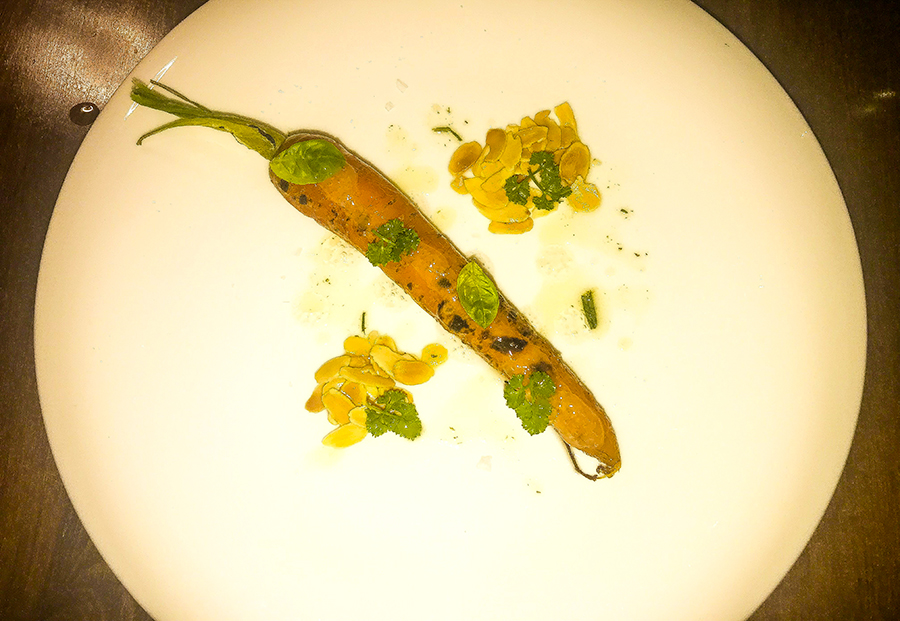carota cotta a bassa temperatura