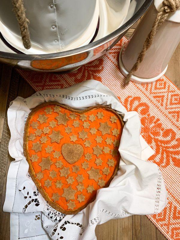 Crostata alla marmellata di carote
